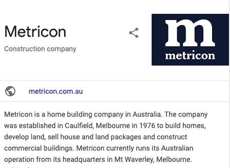 Metricon Homes Reviews